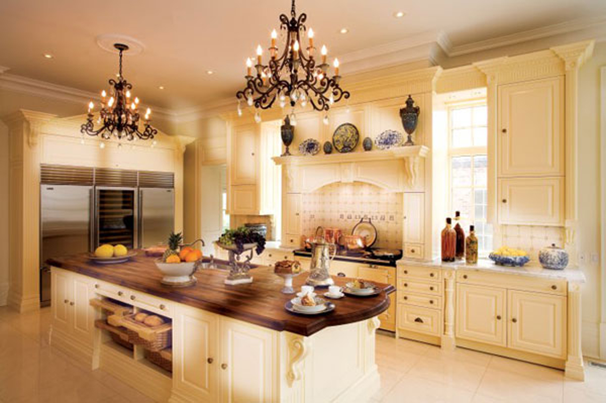 luxury country kitchen designs photo - 5