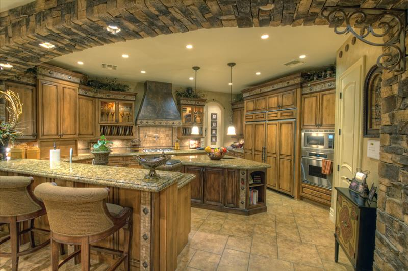 luxury country kitchen designs photo - 6