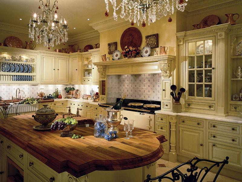 luxury country kitchen designs photo - 8