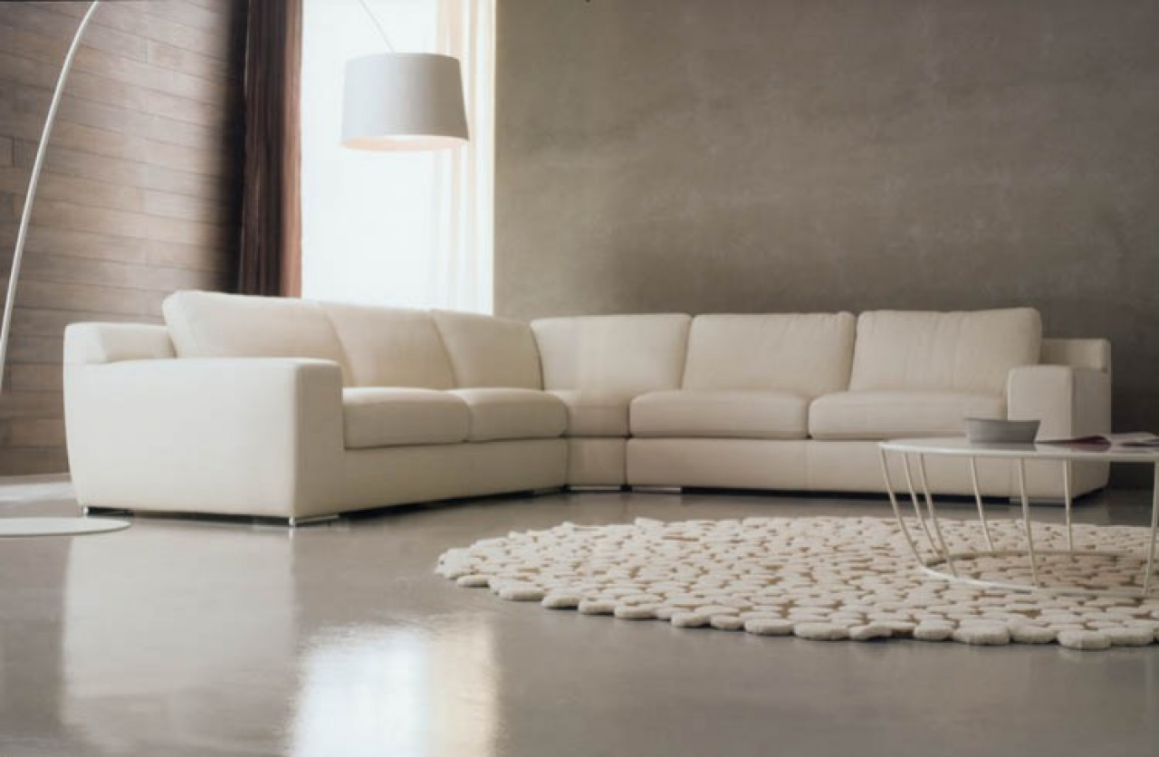 luxury modern sectional sofas photo - 1