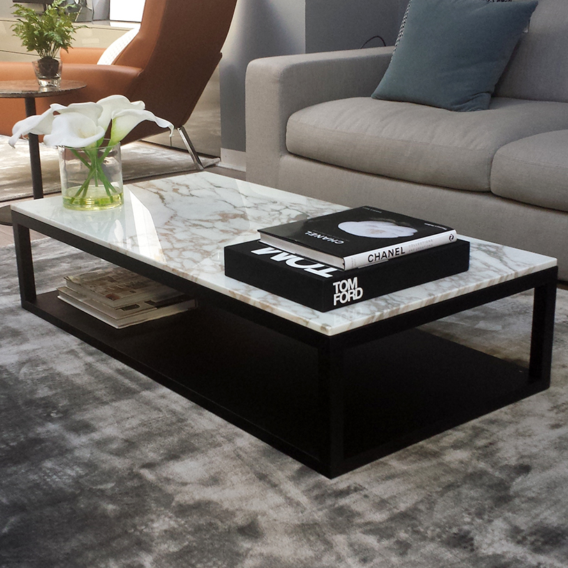 marble coffee table design photo - 10