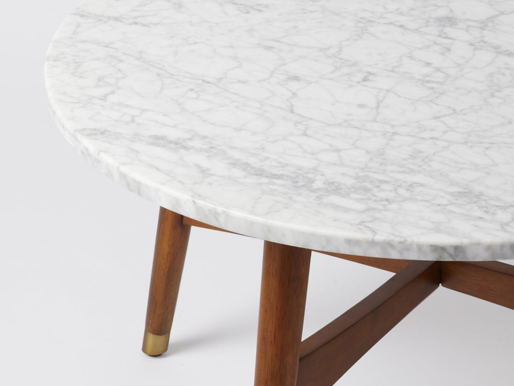 marble coffee table design photo - 7