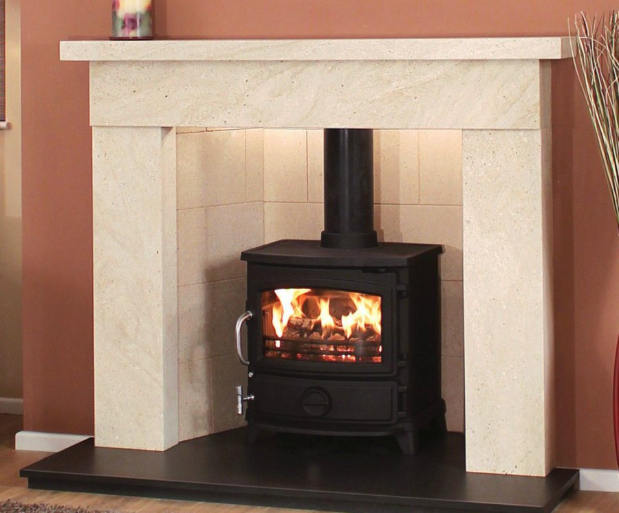 marble fire surrounds for wood burners photo - 10