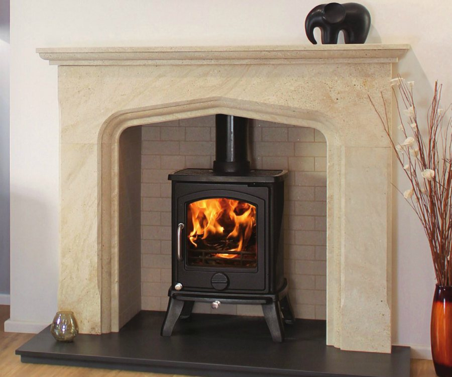 marble fire surrounds for wood burners photo - 4