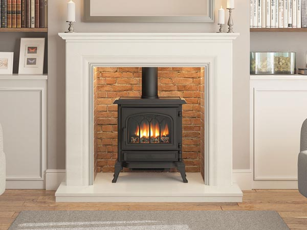 marble fire surrounds for wood burners photo - 9