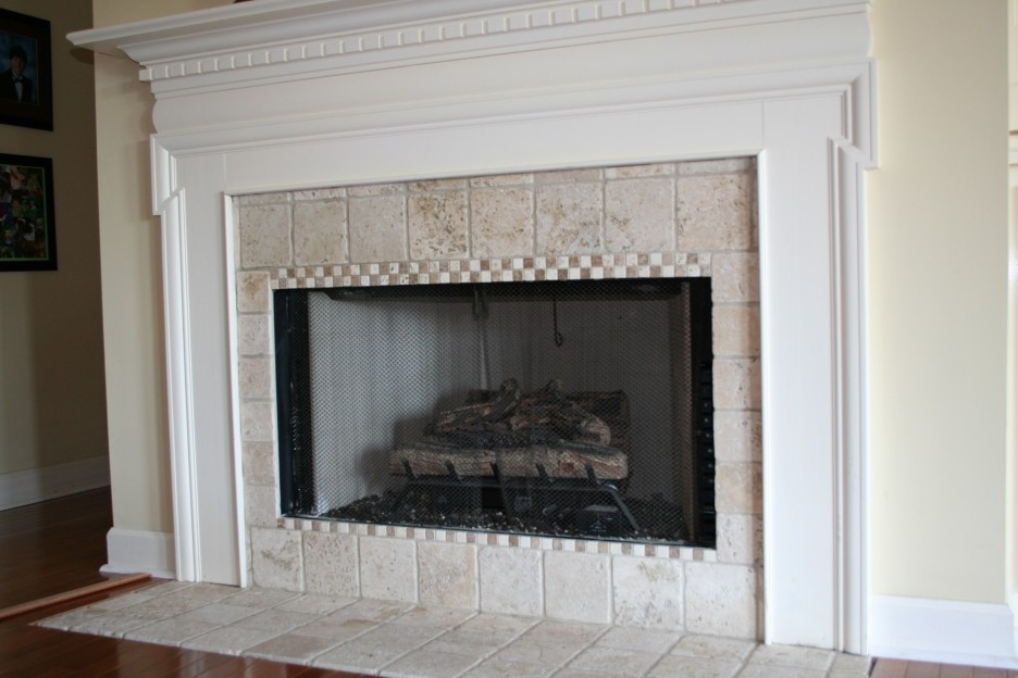 marble fireplace surround ideas photo - 10