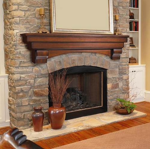 marble fireplace surround ideas photo - 8