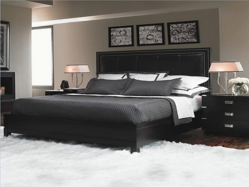 master bedroom black furniture photo - 1