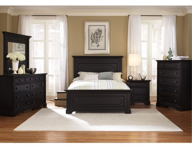 master bedroom black furniture photo - 6