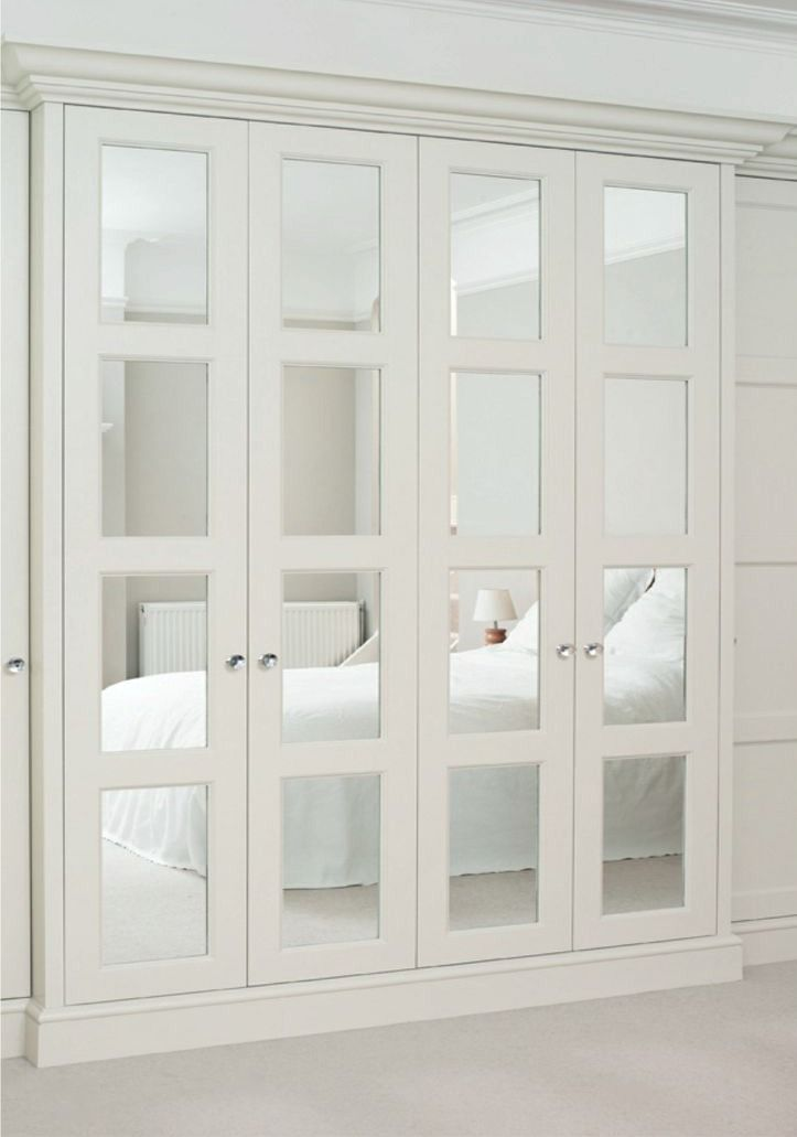 mirrored closet doors photo - 1