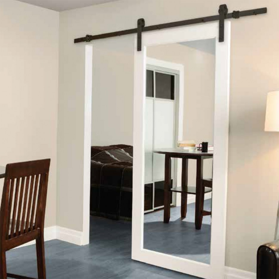 mirrored closet doors photo - 10