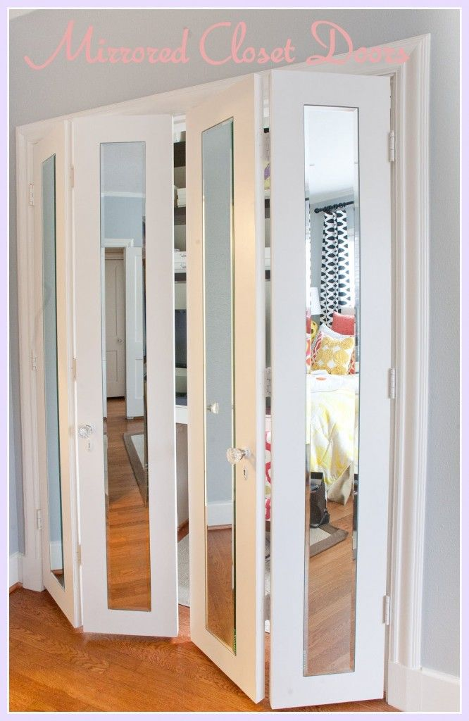 mirrored closet doors photo - 5