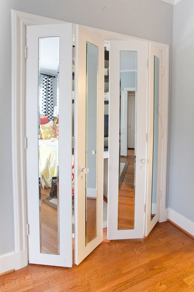 mirrored closet doors photo - 7
