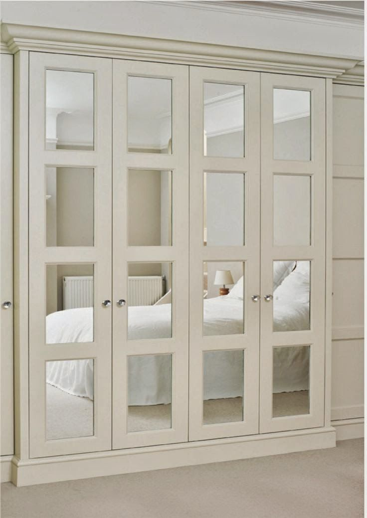 mirrored closet doors bifold photo - 6