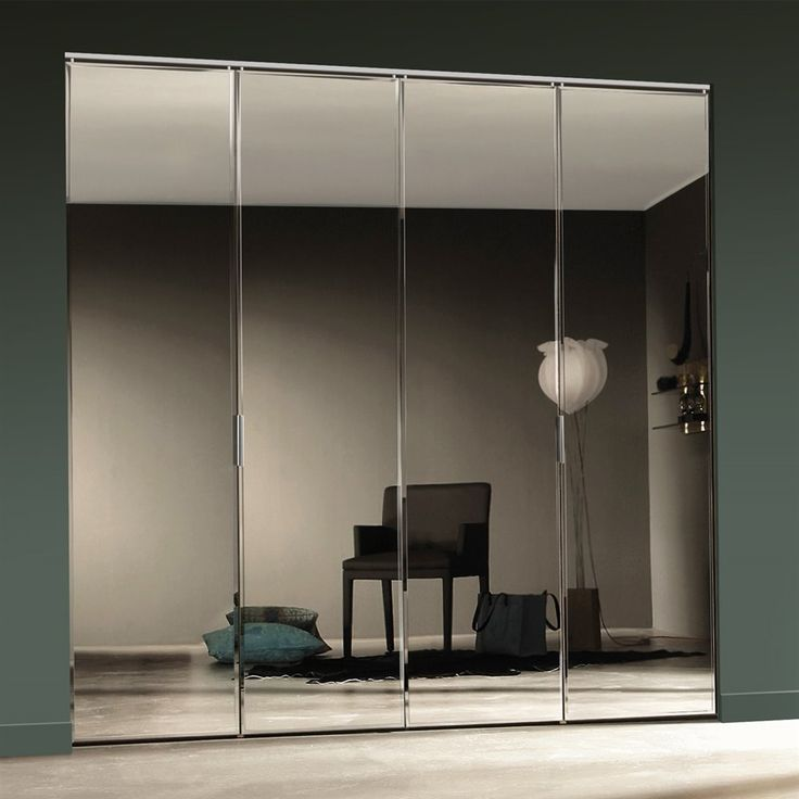 mirrored closet doors bifold photo - 8