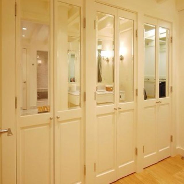 mirrored closet doors french photo - 2