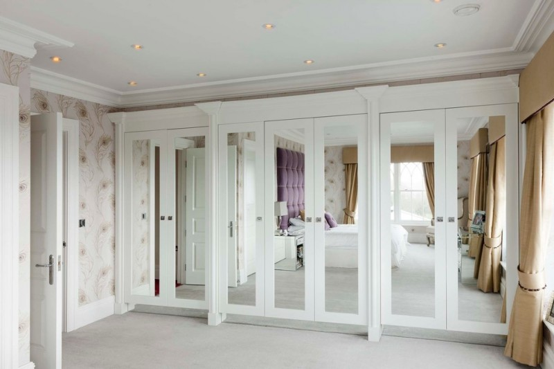 mirrored closet doors french photo - 4