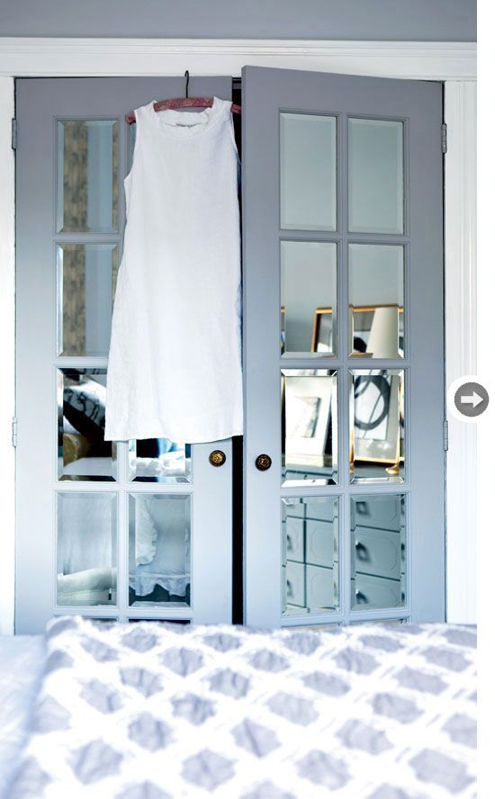 mirrored closet doors french photo - 9