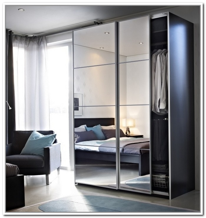 mirrored closet doors modern photo - 10