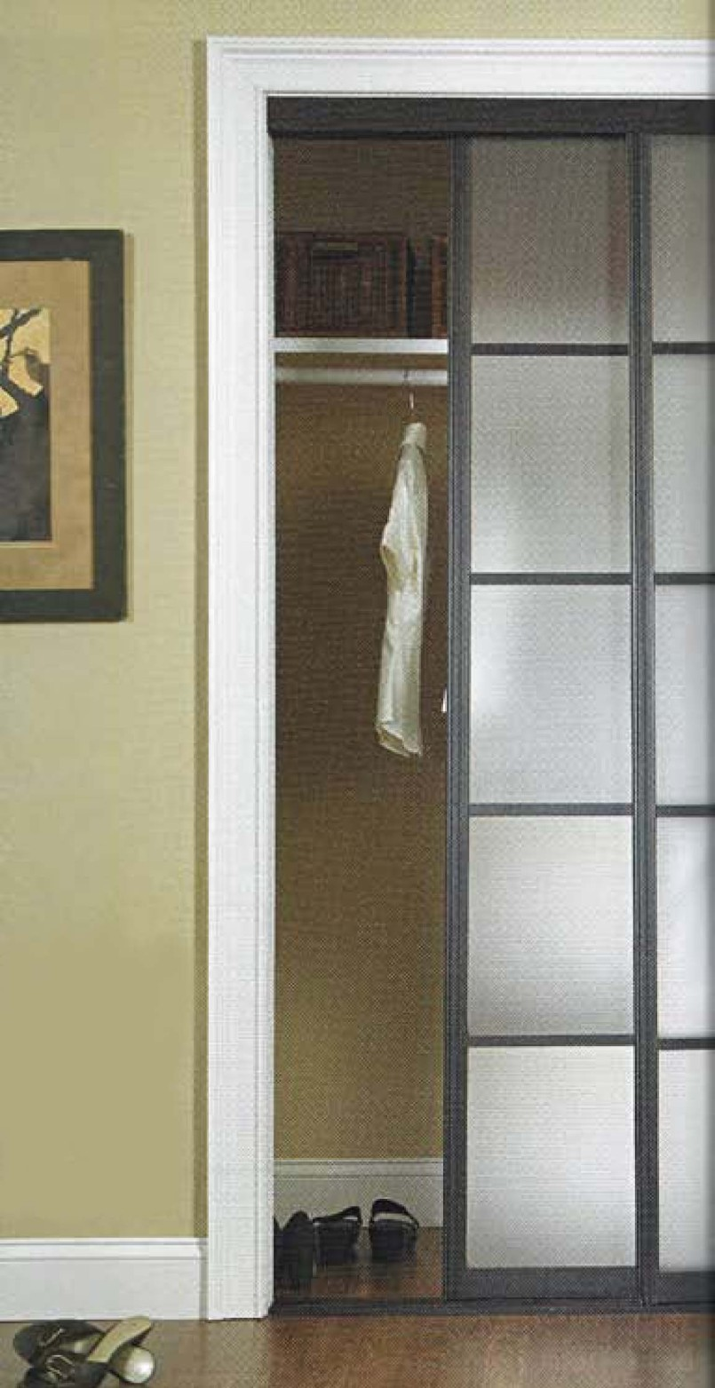 mirrored glass closet doors photo - 4