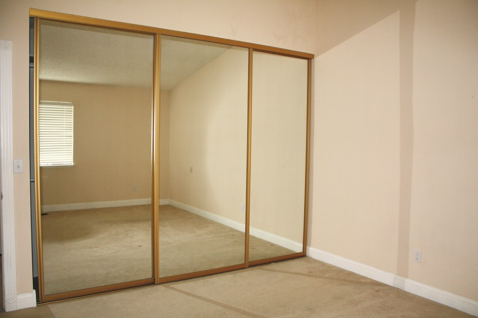 mirrored glass closet doors photo - 6