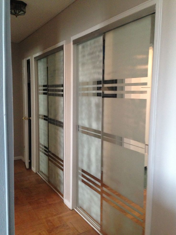 mirrored glass closet doors photo - 8