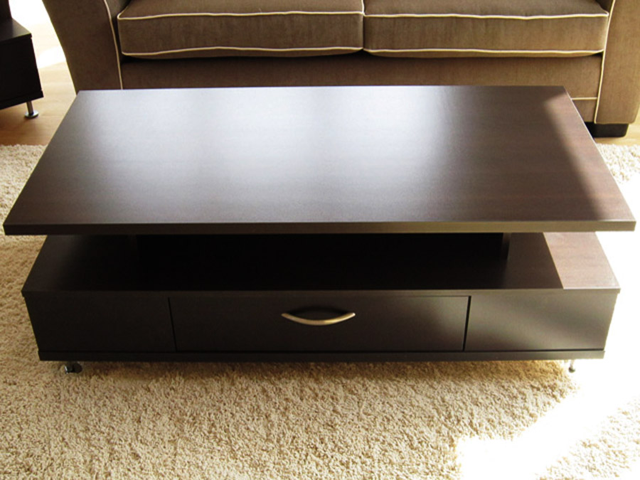 modern coffee table drawers photo - 4