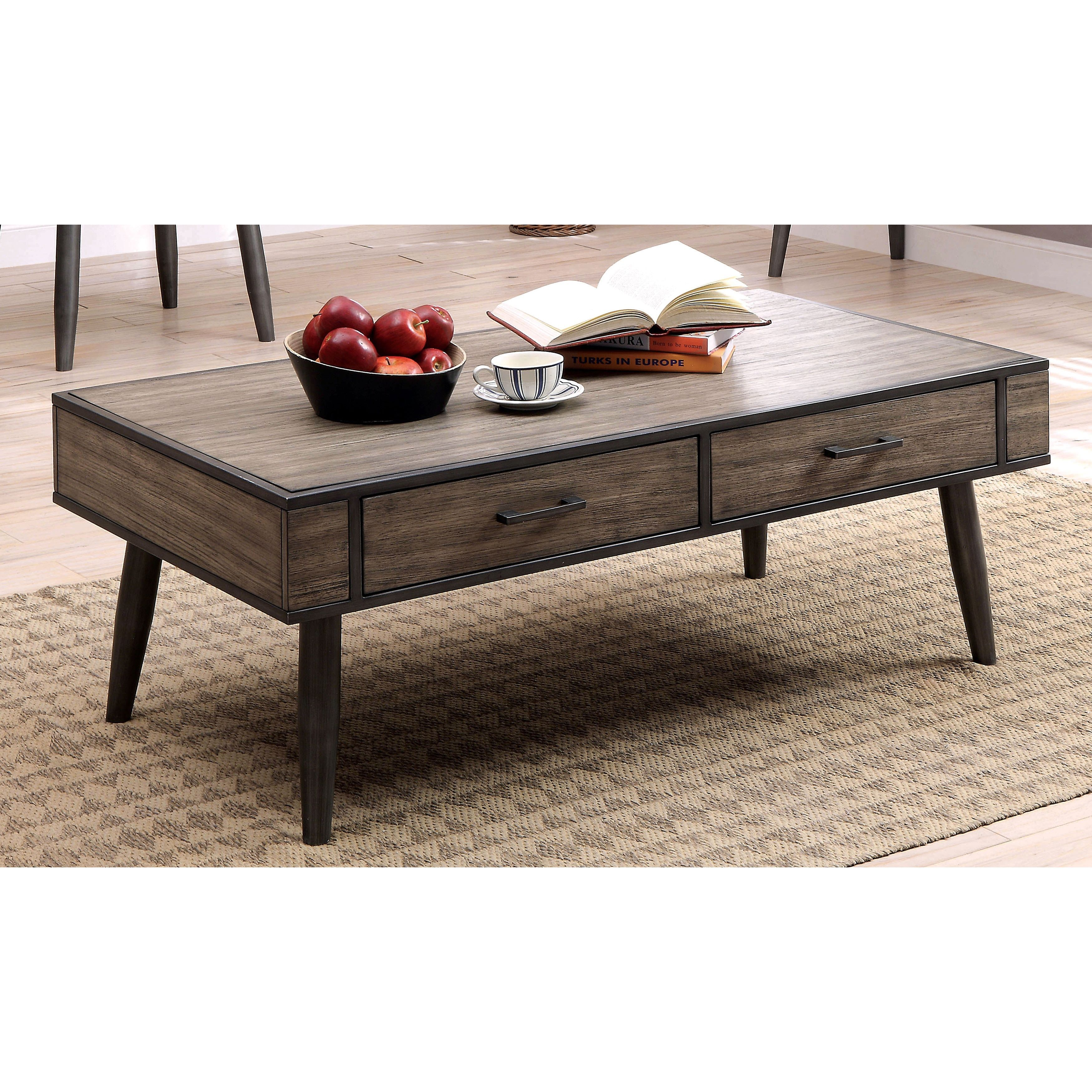 modern coffee table drawers photo - 5