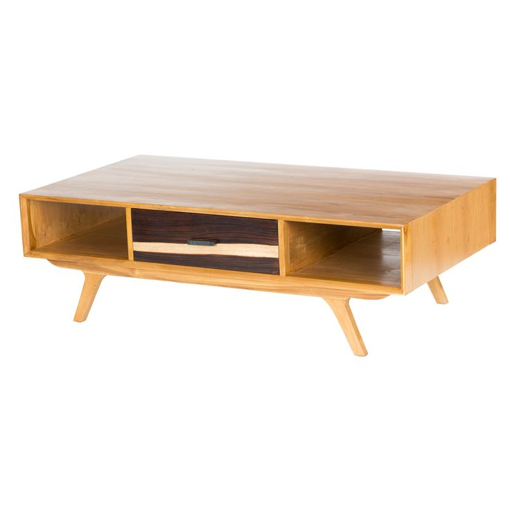 modern coffee table mid century photo - 1