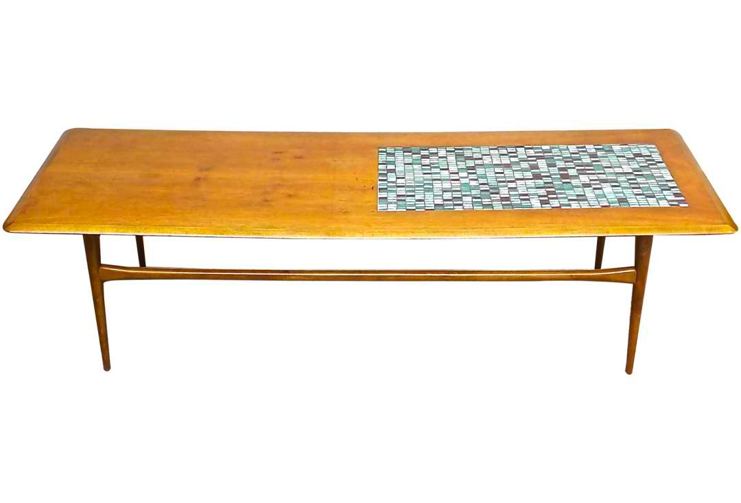 modern coffee table mid century photo - 2