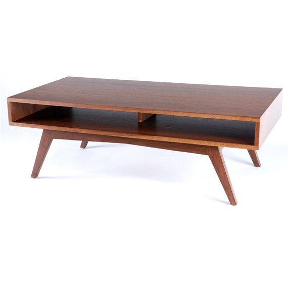 modern coffee table mid century photo - 5