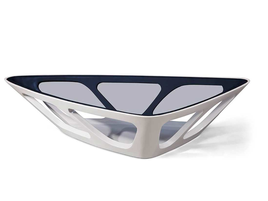 modern coffee tables glass top photo - 1