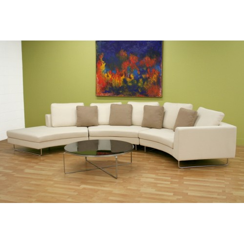 modern curved sectional sofas photo - 9
