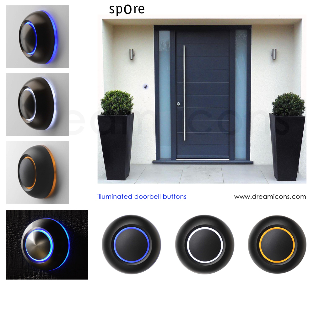 modern design door bell photo - 10