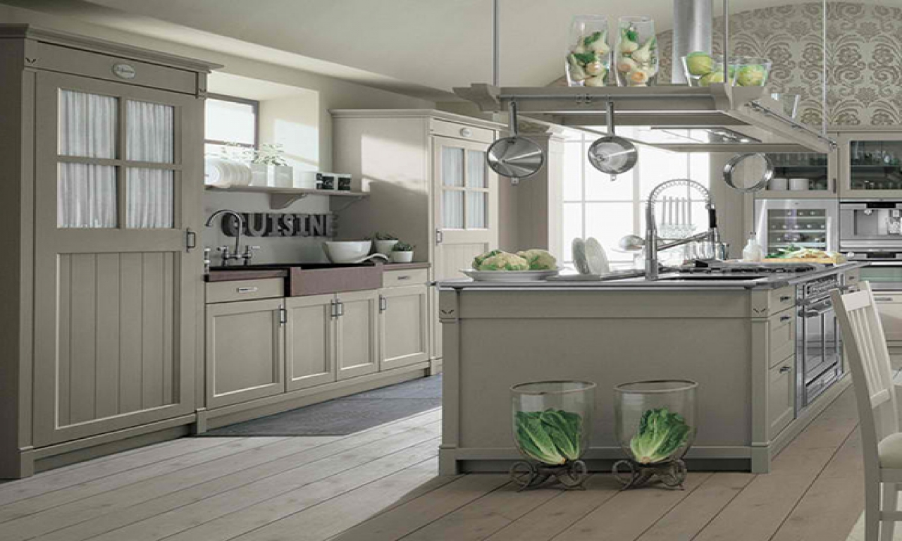 modern french country kitchen designs photo - 10