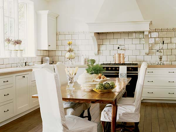 modern french country kitchen designs photo - 8