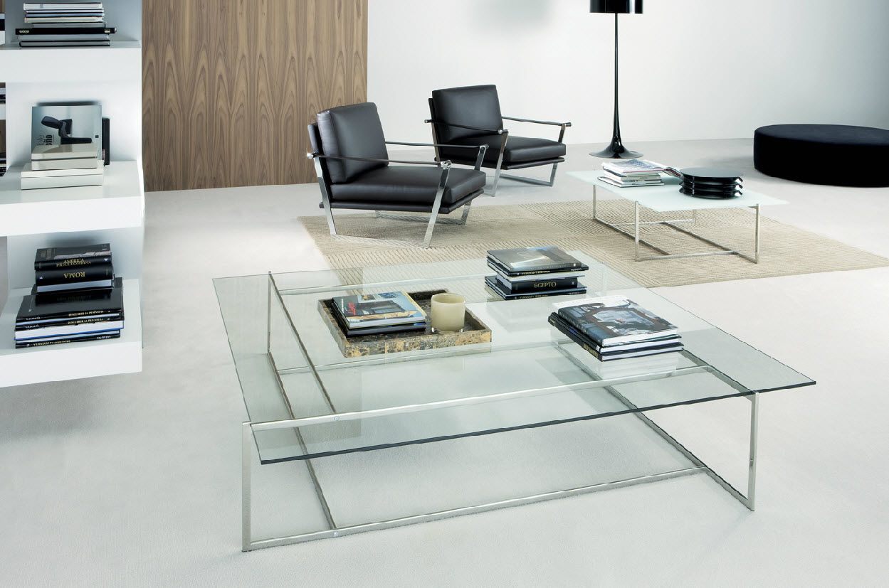 modern glass coffee table designs photo - 9