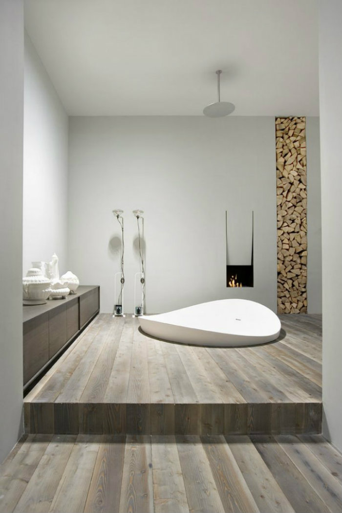 modern home bathroom design photo - 4