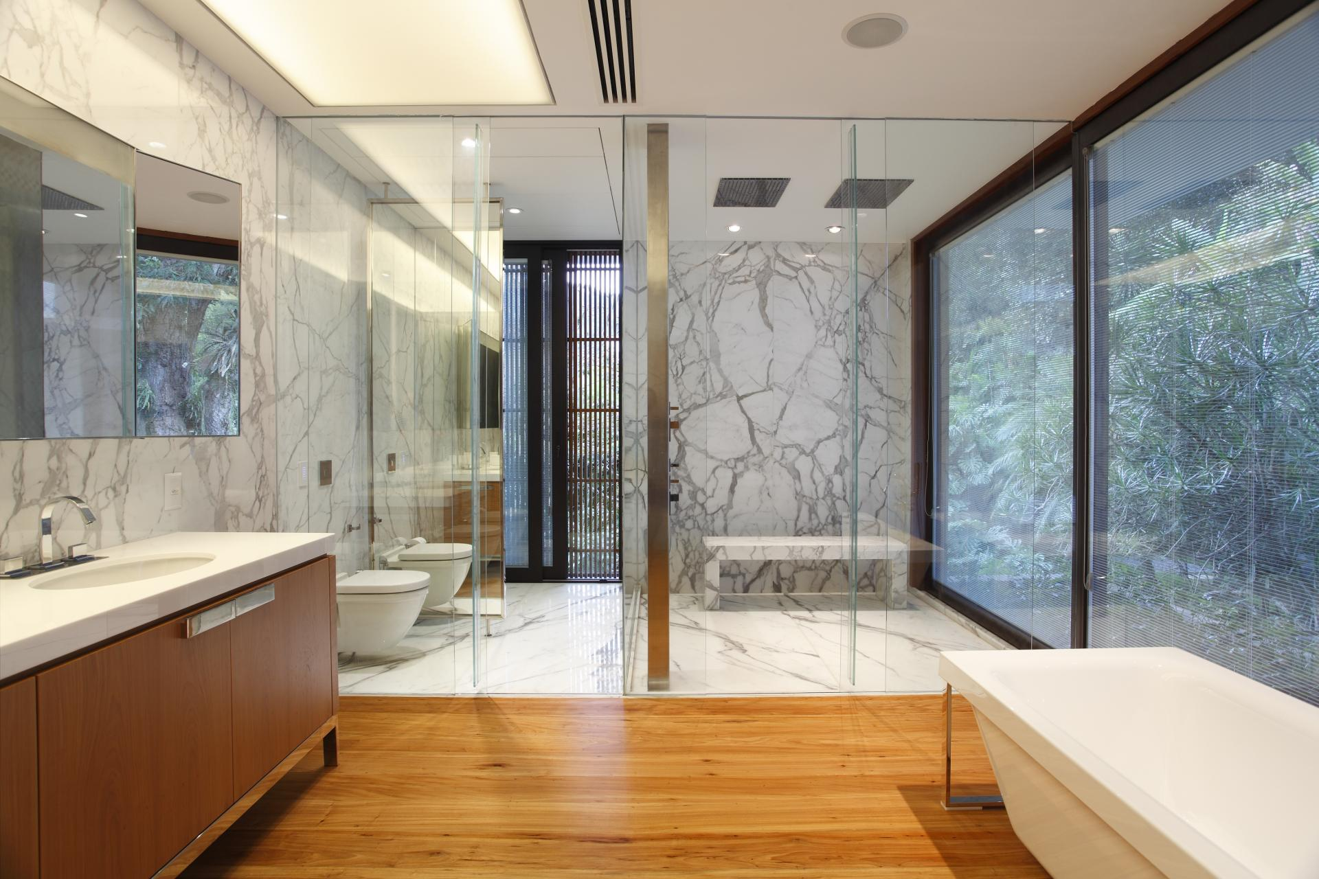modern home bathroom design photo - 9