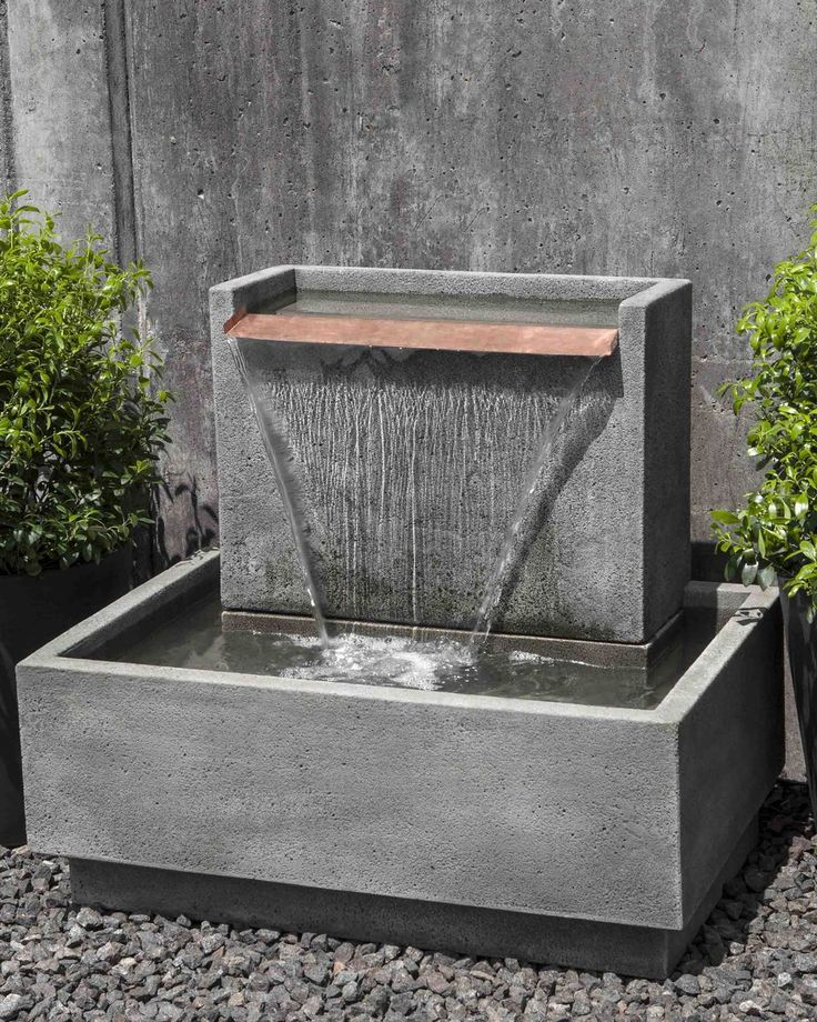 modern water fountains photo - 6