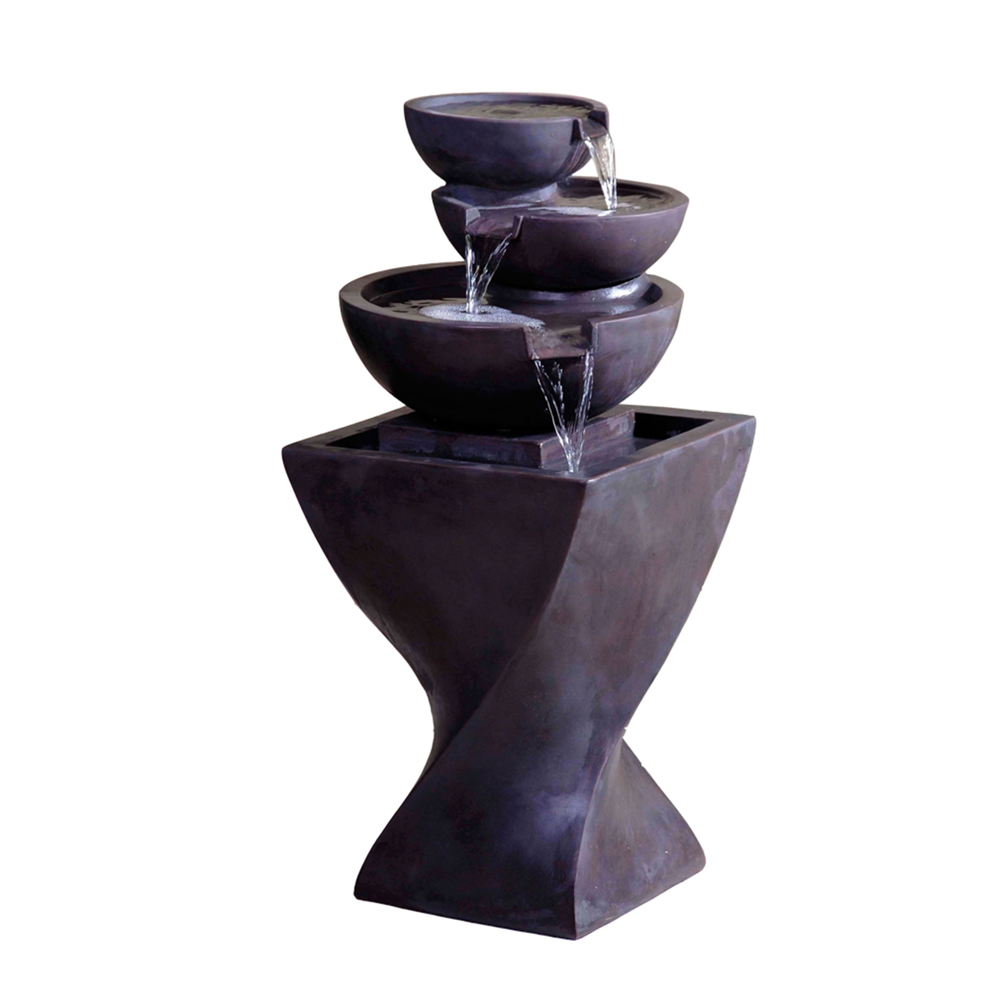 modern water fountains home photo - 2
