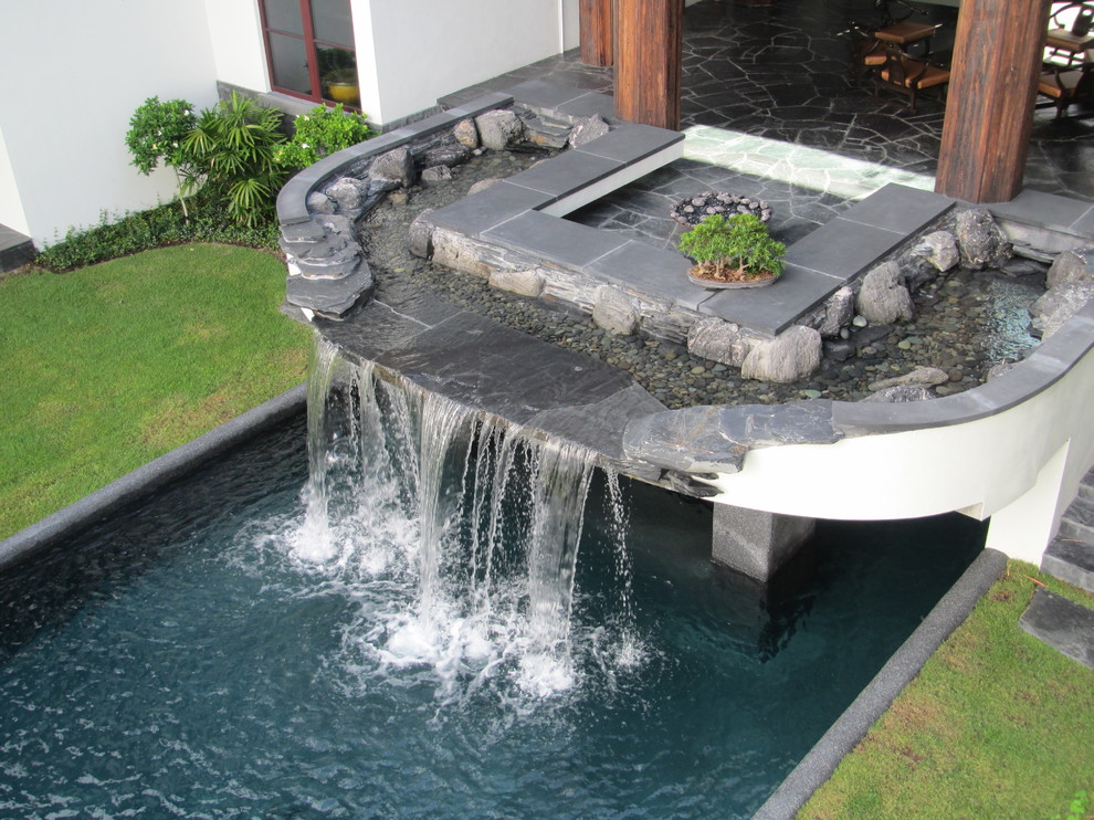 modern water fountains home photo - 5
