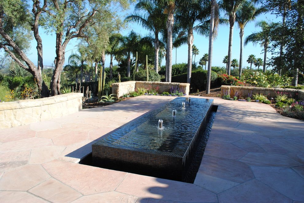 modern water fountains home photo - 8