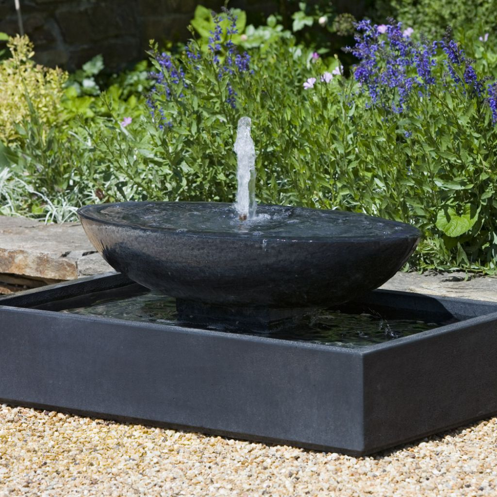 modern water fountains home photo - 9