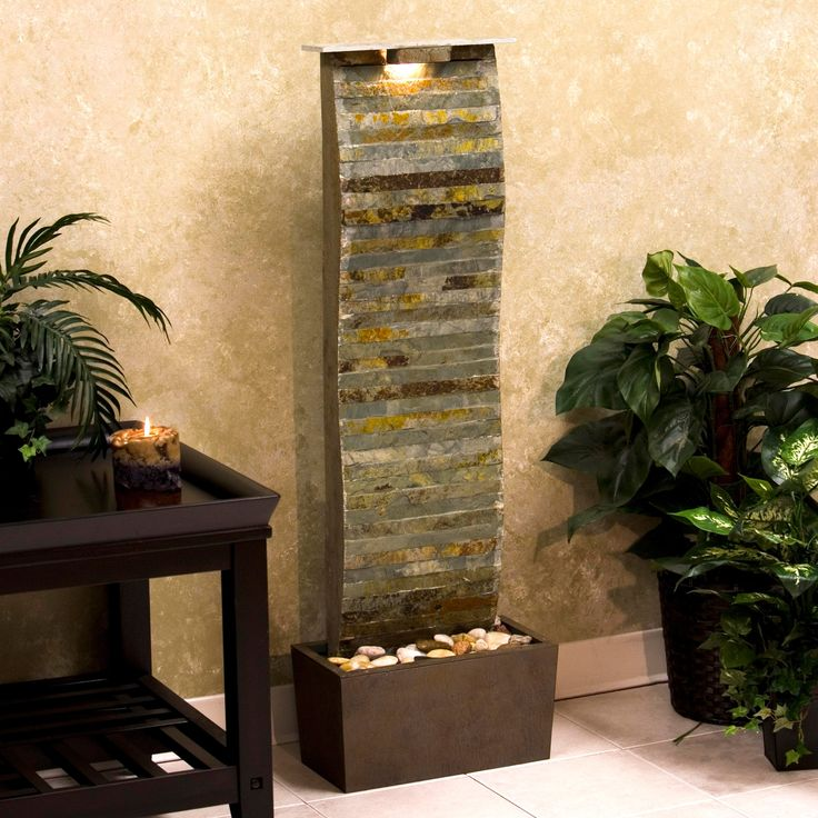 modern water fountains indoor photo - 10