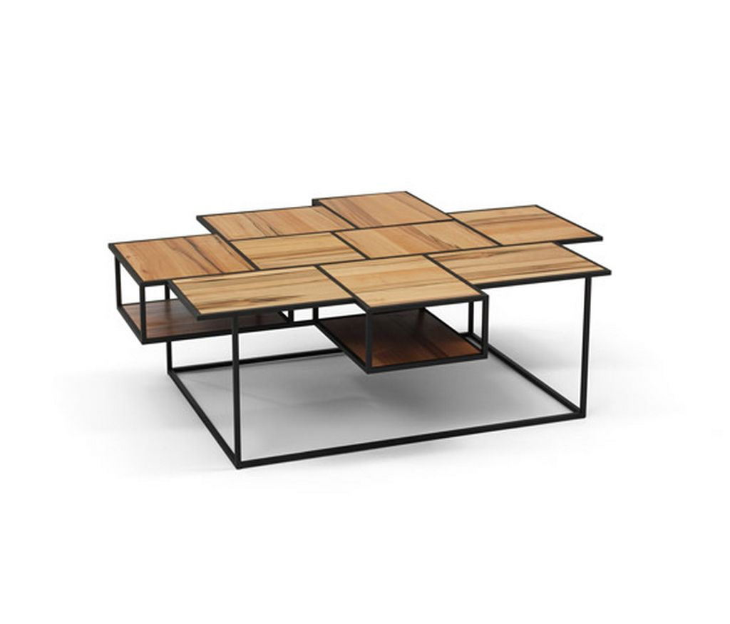 modern wooden coffee table designs photo - 7