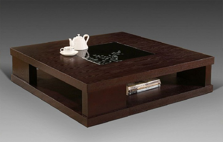 modern wooden coffee table designs photo - 8