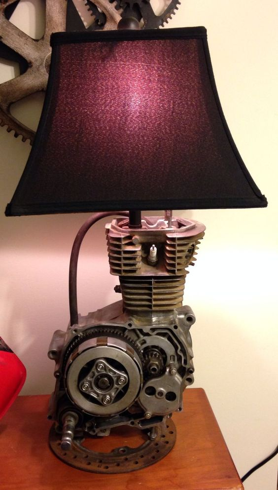 motocross bedroom lamp photo - 4