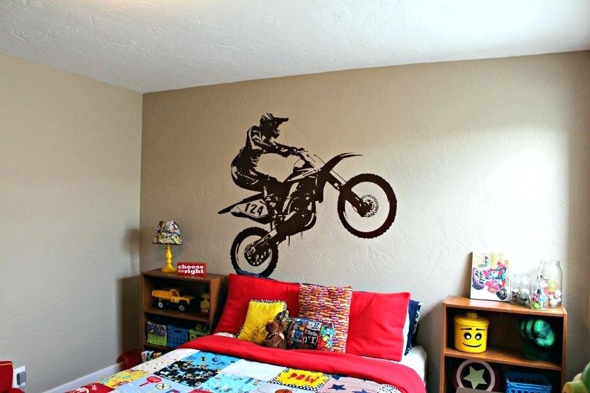 motocross bedroom lamp photo - 9