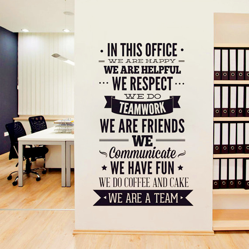 office wall decor motivational photo - 10
